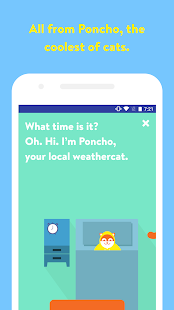 Poncho: Wake Up Weather- screenshot thumbnail