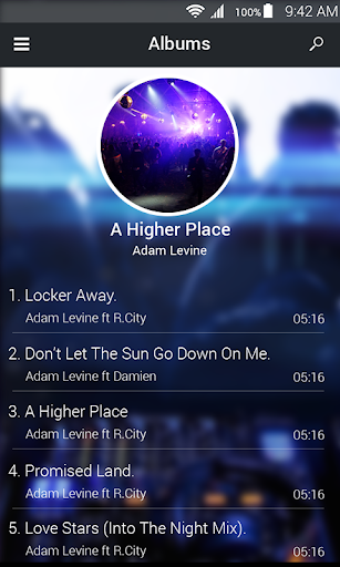 Mp3 player Screenshot
