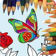 Abstract Coloring for adults  Icon