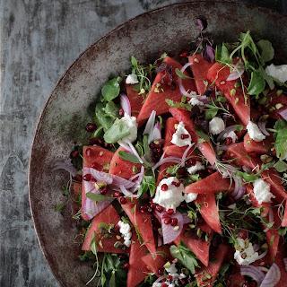 Persian Watermelon Salad.