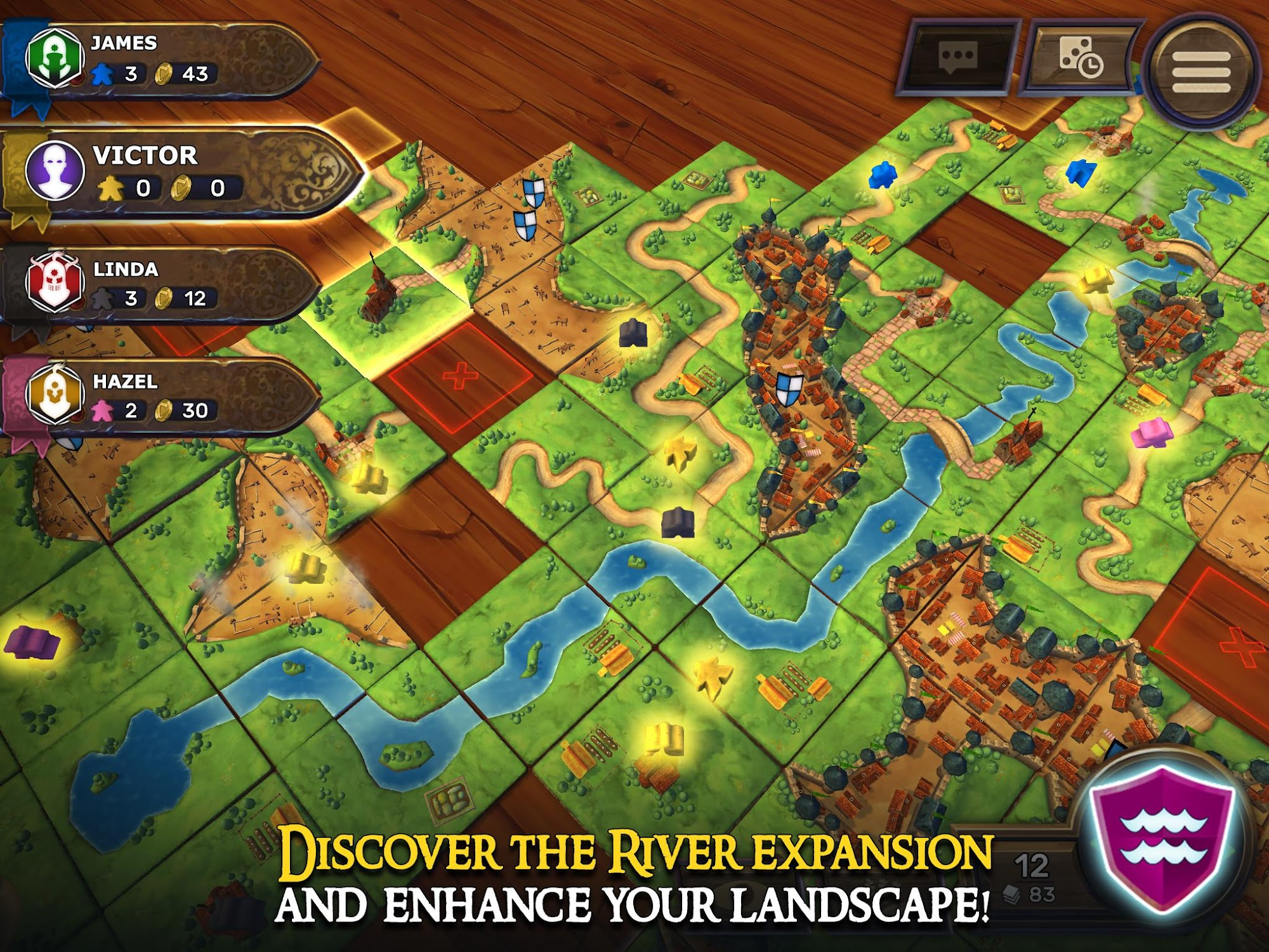 Carcassonne: Official Board Game -Tiles & Tactics screenshot #10