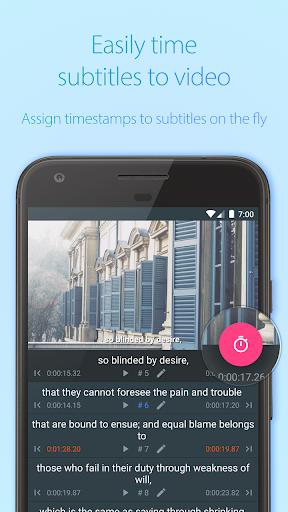 Subcake - Add Subtitle to Video, Subtitle Maker screenshot 4
