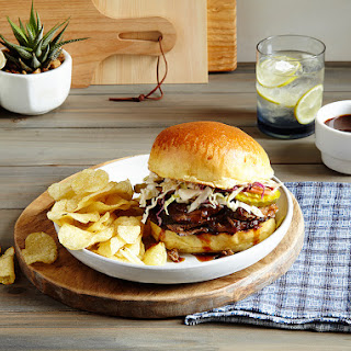 Slow Cooker BBQ Brisket Sandwiches