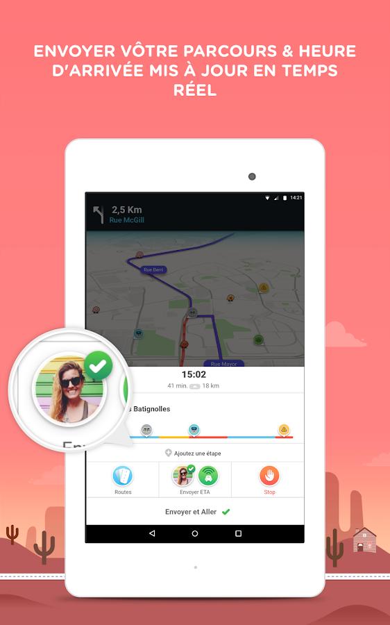 waze gps cartes trafic navigation temps r el applications android sur google play