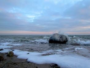 Photo: Mitte Februar kam dann der Frost wieder zurück.