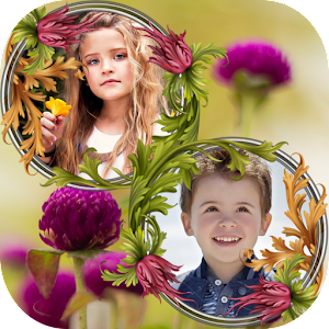 Flower Couple Collage Frames apk