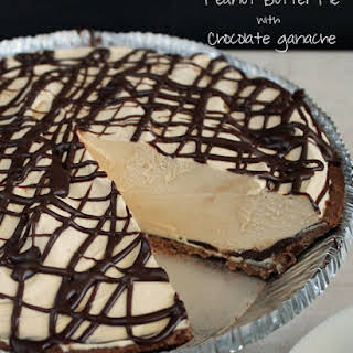 Peanut Butter Pie with Chocolate Ganache.
