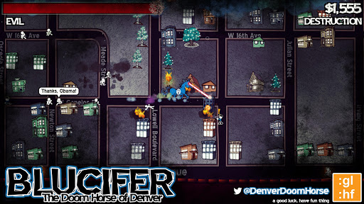 Screenshot for Blucifer: The Doom Horse of Denver in United States Play Store