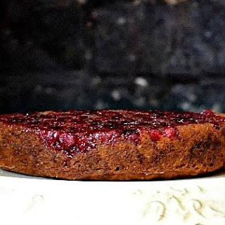 Pumpkin Cranberry Upside Down Cake