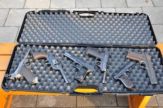 Photo: Sobotní odpoledne na střelnici v Ostravě-Staré Bělé (sobota, 26. listopad 2011).