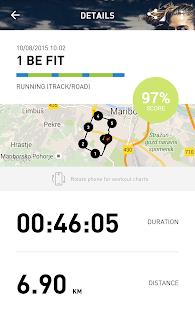 adidas train & run- screenshot thumbnail
