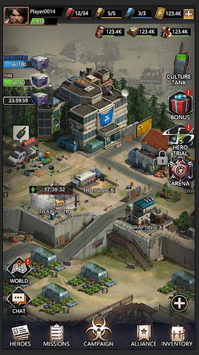 Zombies & Puzzles: RPG Match 3 screenshots 9