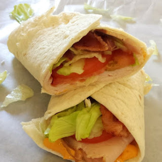 Spicy BLT Turkey Wraps