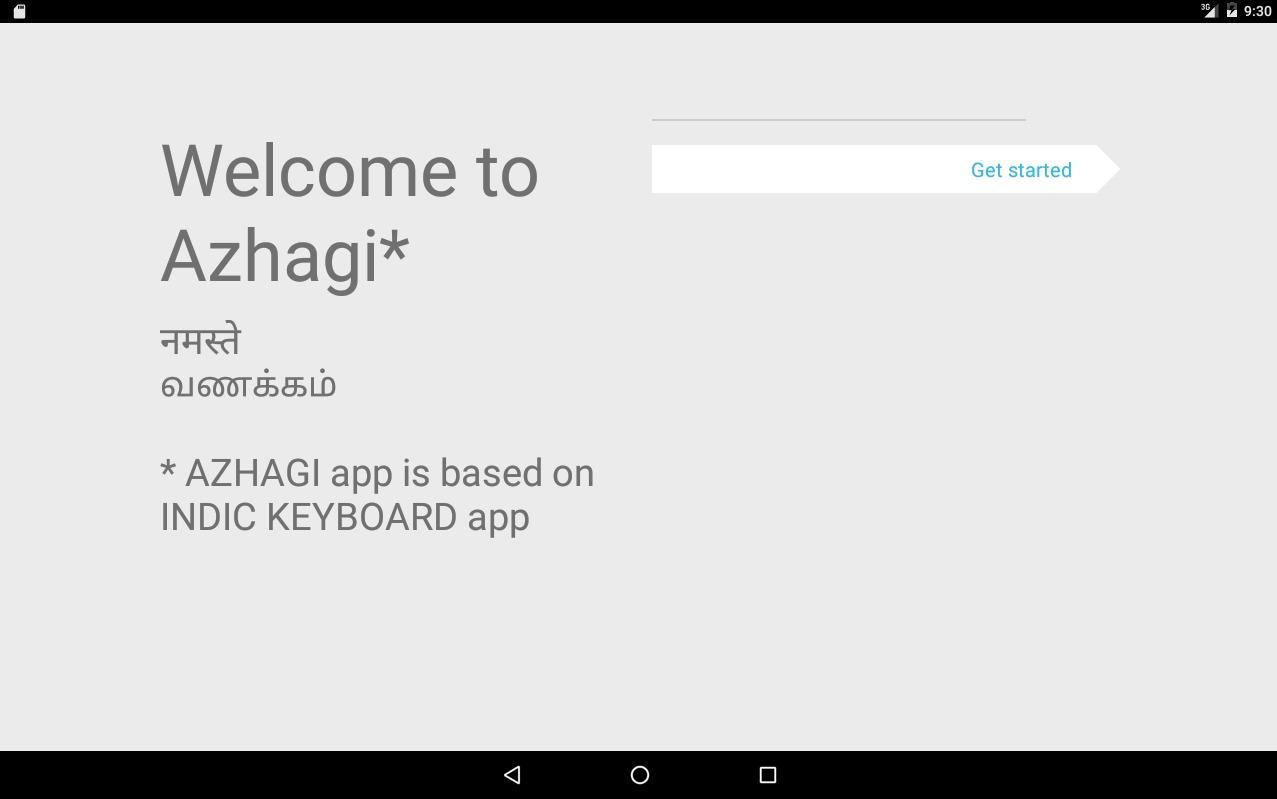 Azhagi Indic Keyboard - Easy Typing + Voice Input- screenshot
