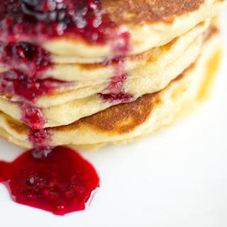 Lemon Mascarpone Pancakes