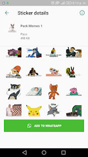 WAStickerApps Memes Momazos Megapack para whatssp Screenshot