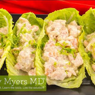 Avocado Chicken Salad Wraps.