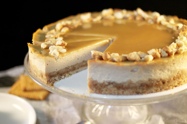 Butter Cookie Cheesecake with Salted Butter Caramel Recipe