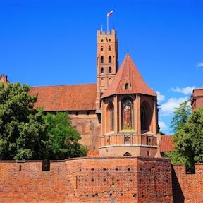 【世界のお城】ドイツ騎士団が築いた世界遺産のレンガの城、ポーランドのマルボルク城を訪ねて