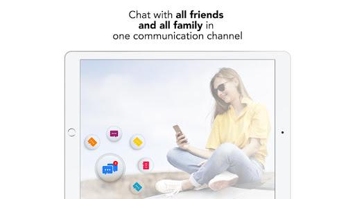 Mobile Messenger - Instant & Lite & Free Chat App 1.2 screenshots 6