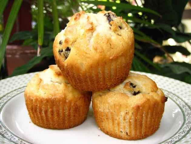 Dried Fruit Muffins Recipe