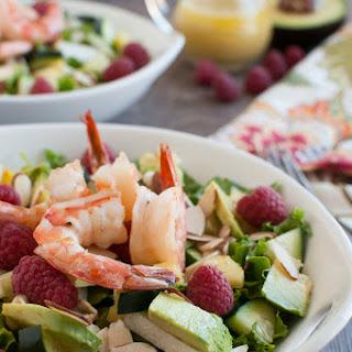 Summer Salad with Ginger Dressing