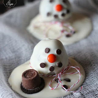 Melting Snowman OREO Cookie Ball