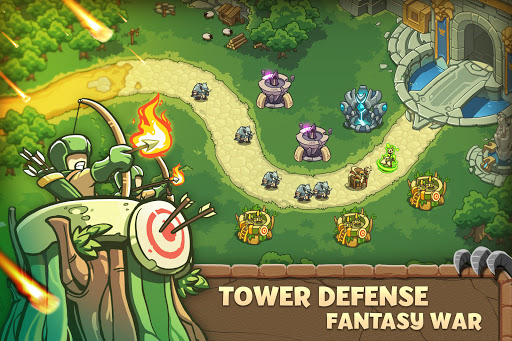 Empire Warriors: Tower Defense TD Strategy Games apkdomains screenshots 1