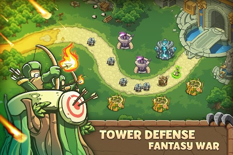 Empire Warriors: Tower Defense TD Strategy Games Screenshot
