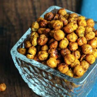 Crispy Roasted Chickpeas Recipe