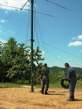 Photo: Dvig stolpa z anteno 2