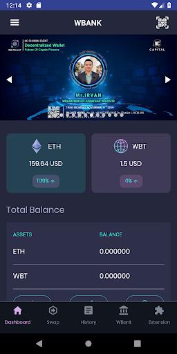 Wbank App screenshot 1