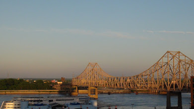Photo: St Louis historic bridge.