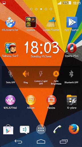 Zig Zag Xperien Theme screenshot 5