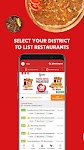 screenshot of Yemeksepeti - Order Food & Grocery Easily