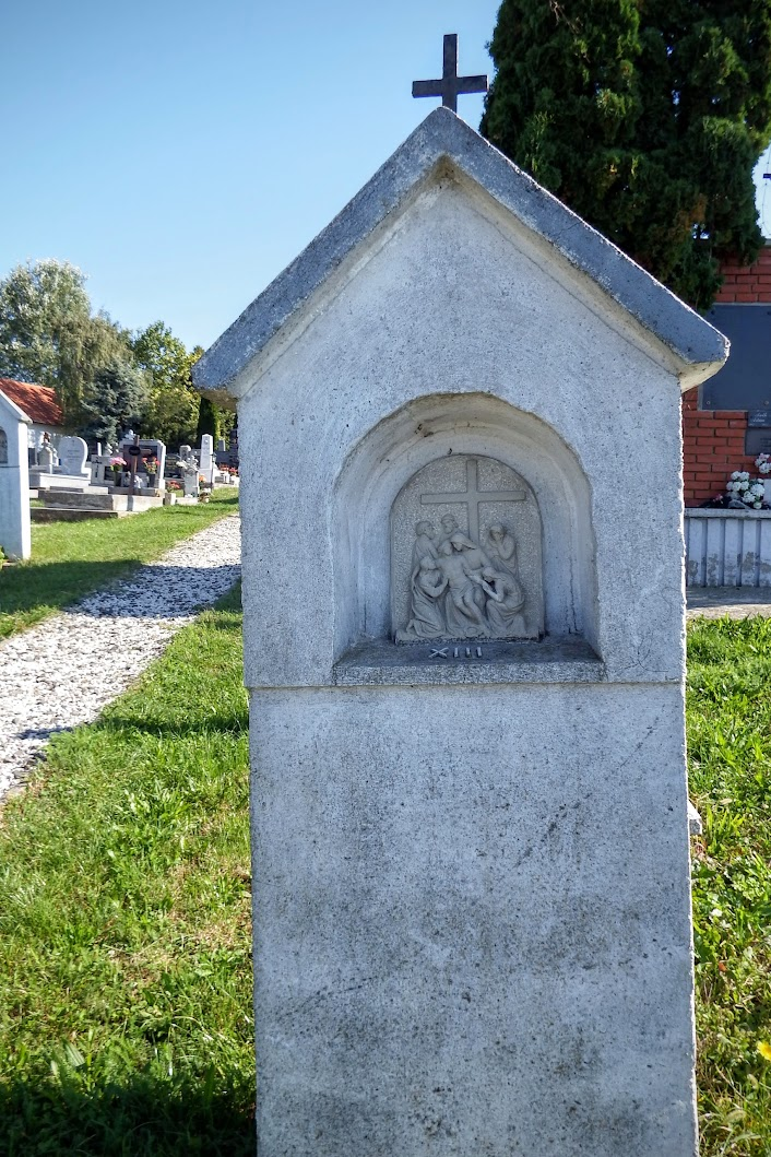 Geresdlak - keresztút a püspöklaki temetőben