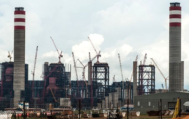 Eskom's Kusile power station, outside Emalahleni in Mpumalanga. Picture: SUNDAY TIMES