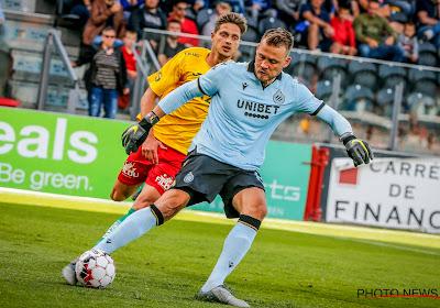 """Mignolet positif après le résultat de Bruges : """"Un bon résultat"""""""