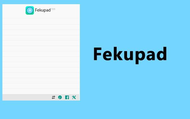 Fekupad- Awesome offline notepad