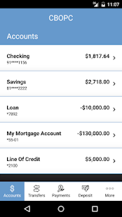 CBOPC Mobile Banking- screenshot thumbnail