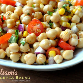 Chickpea Salad Balsamic Vinegar Recipes
