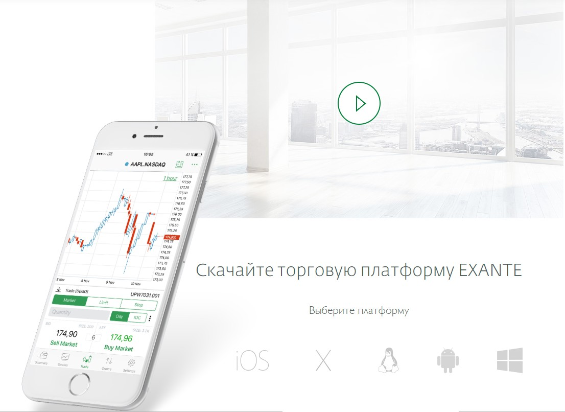 Обзор и анализ отзывов о фондовом брокере Exante