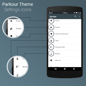 Parkour - Layers Theme v2.1