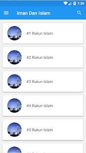 Iman Dan Islam - náhled