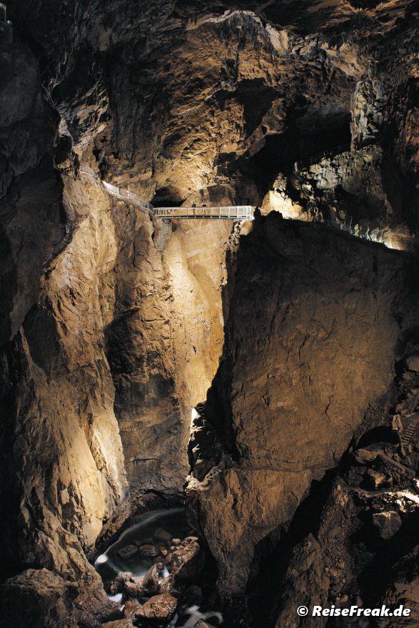 Škocjan Höhlen, copyright Park Škocjanske jame, Autor Borut Lozej,