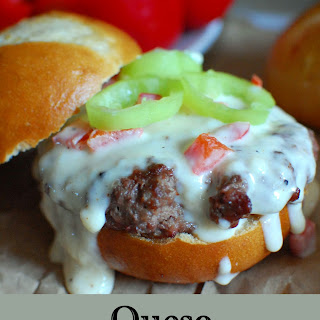 Queso Smothered Burgers.