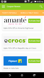 Online Shopping Coupons screenshot 1