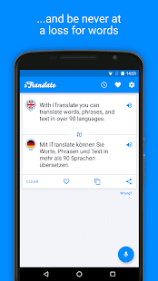 iTranslate Gratuit Traducteur – Vignette de la capture d'écran