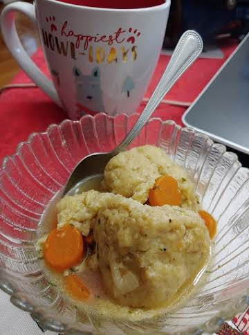 Veggie Matzo Ball Soup