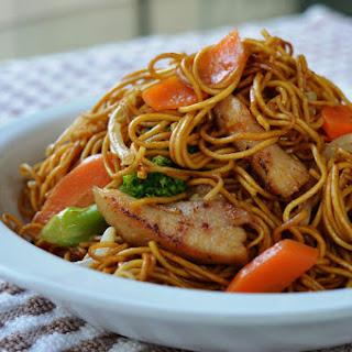 Chicken Fried Noodles.